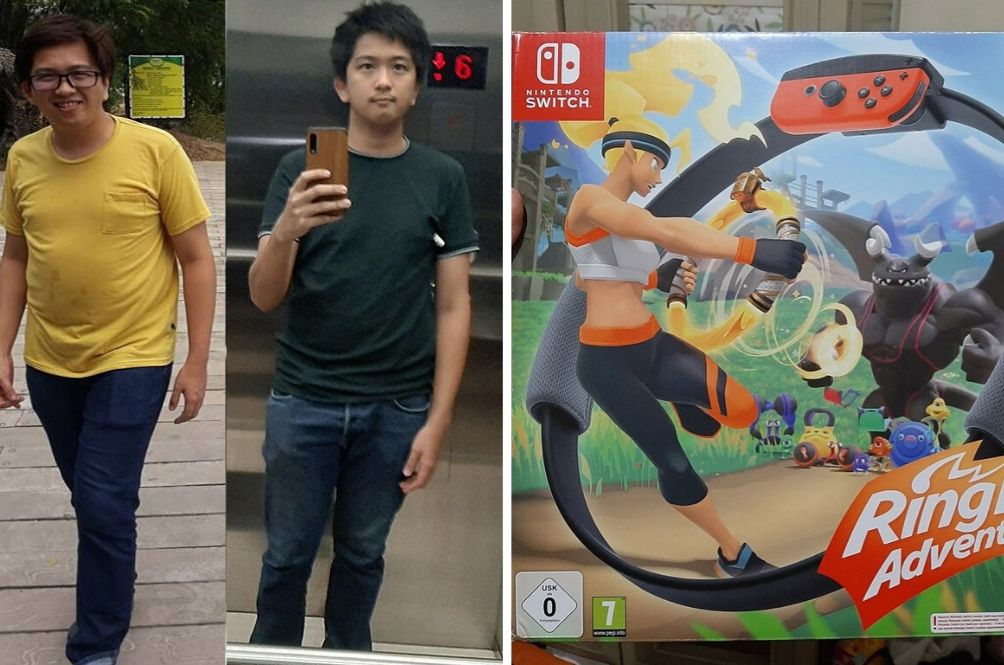Game On: This Video Game Helped One Man Lose 9kg In 30 Days!