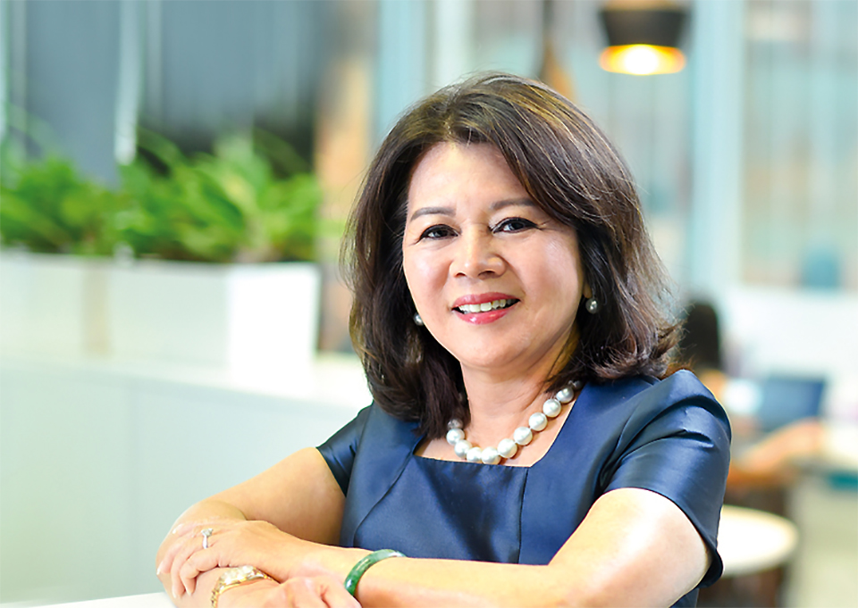 Datuk Yvonne Chia is a real-life superwoman.