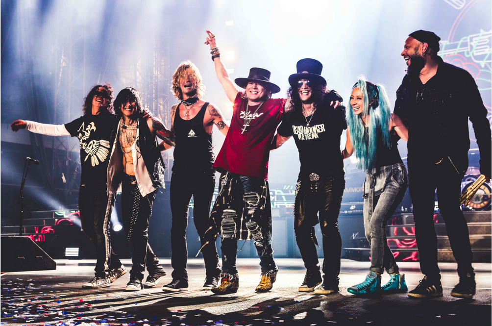 Tickets for Guns N' Roses Tour in Singapore Go on Sale Friday