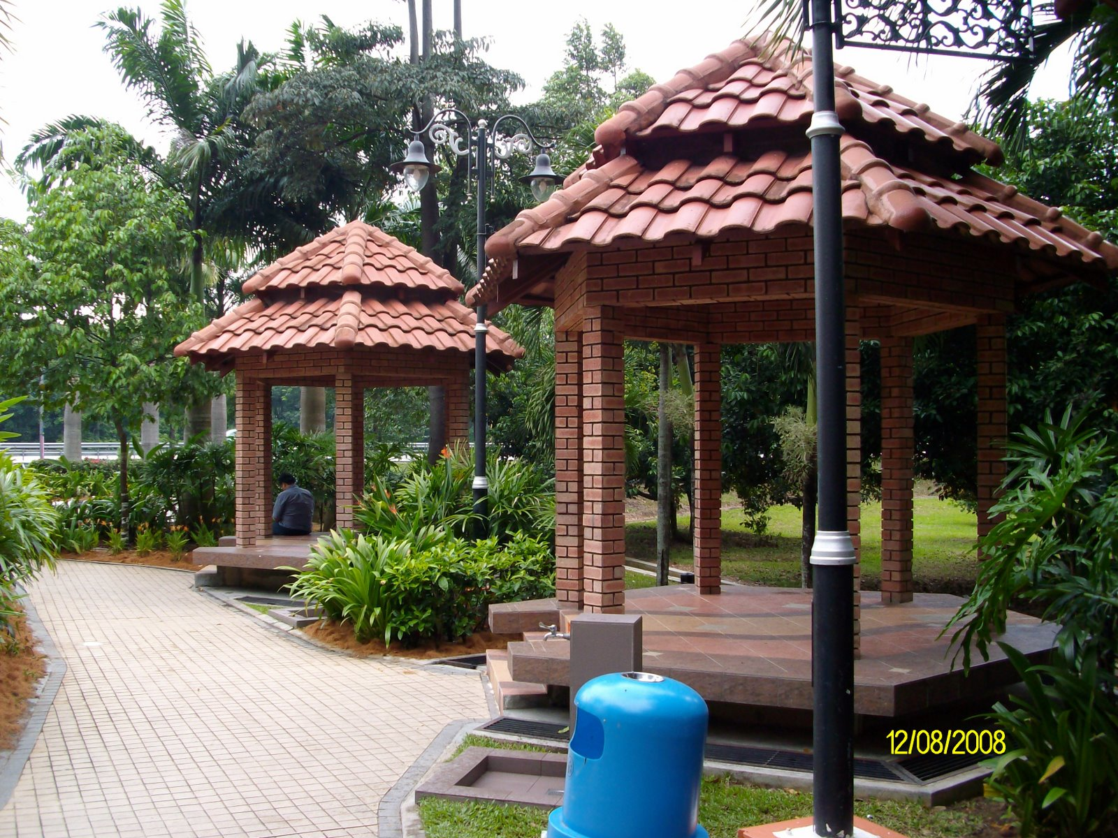 The wakaf at the Bukit Gantang rest area