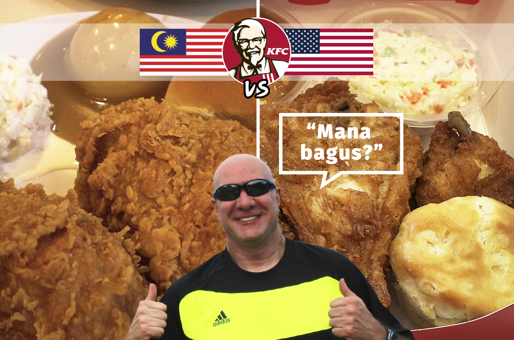 Rojak Daily's Ang Moh Compares: KFC Malaysia vs KFC America