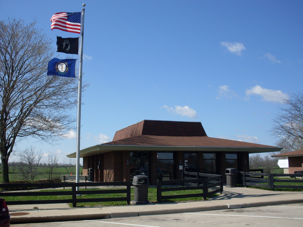 Woodford County rest area, Interstate 64 Eastbound