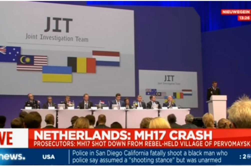 MH17 Shot Down by Buk Missles from Russia