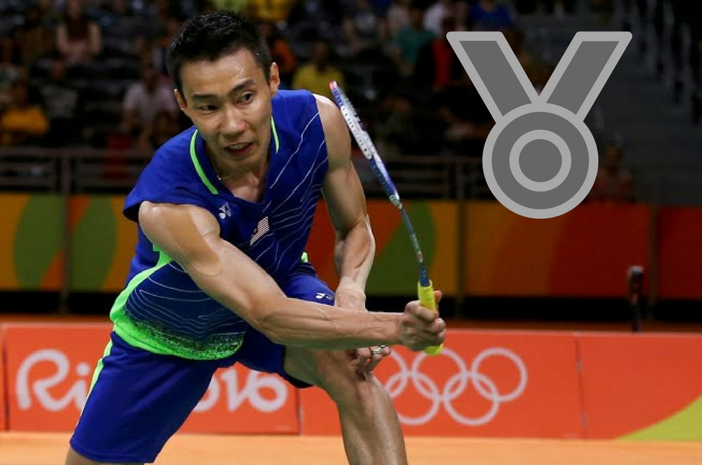 Datuk Lee Chong Wei Brings the Tally to Four Silver Medals