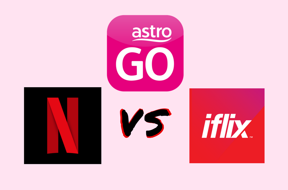 Astro GO, iFlix, and Netflix Compared