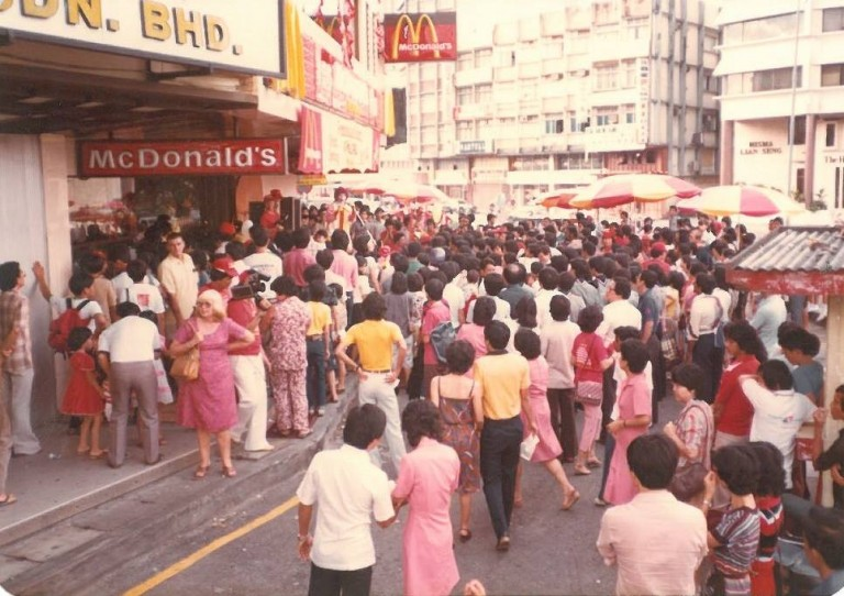 The ancestor to all McDonald's outlets in Malaysia opened in May 1982.