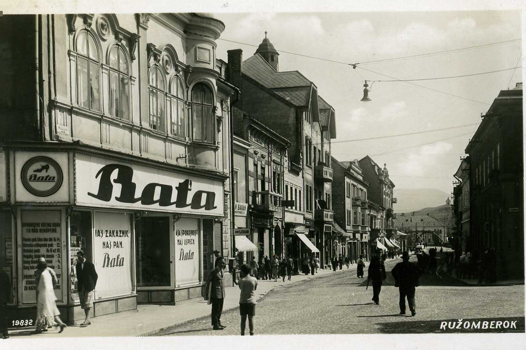 A Bata shop in Slovakia (1930)
