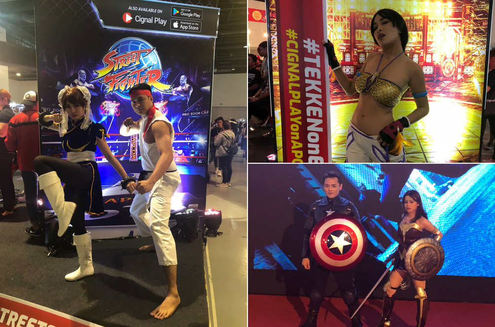 Some Of The Coolest Cosplayers We Spotted At The AsiaPOP Comicon
