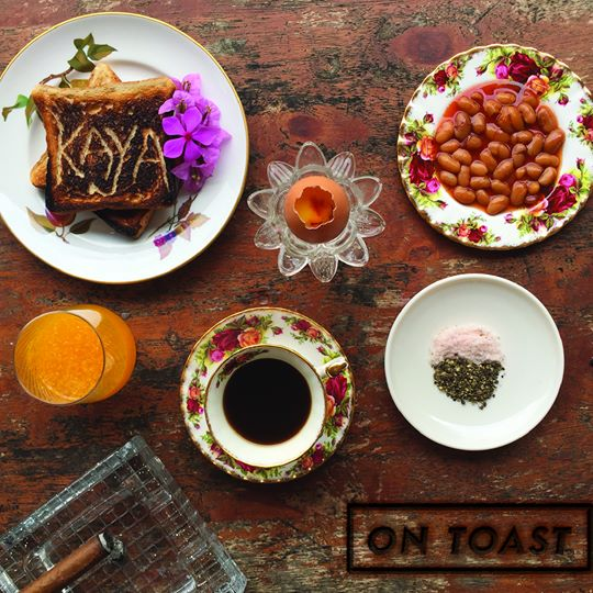 The album cover for 'On Toast'