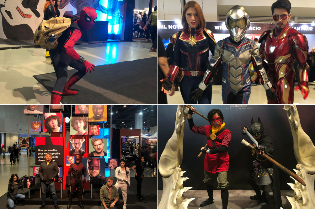 Just a taste of some of the cosplayers at AsiaPOP Comicon