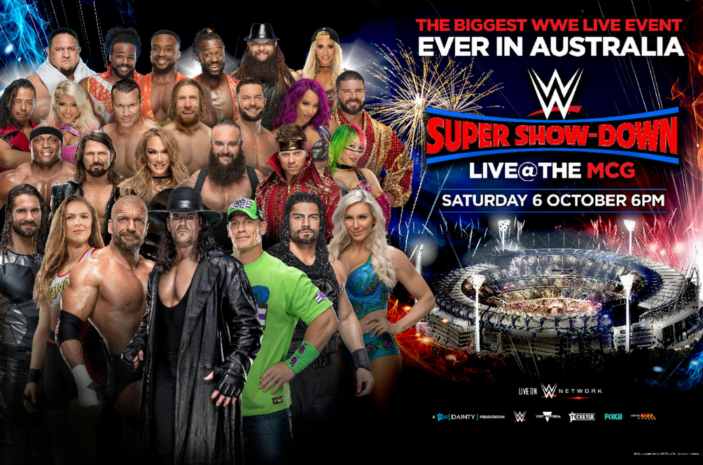 Triple H, Undertaker And Shawn Michaels Confirmed For WWE Super Show-Down