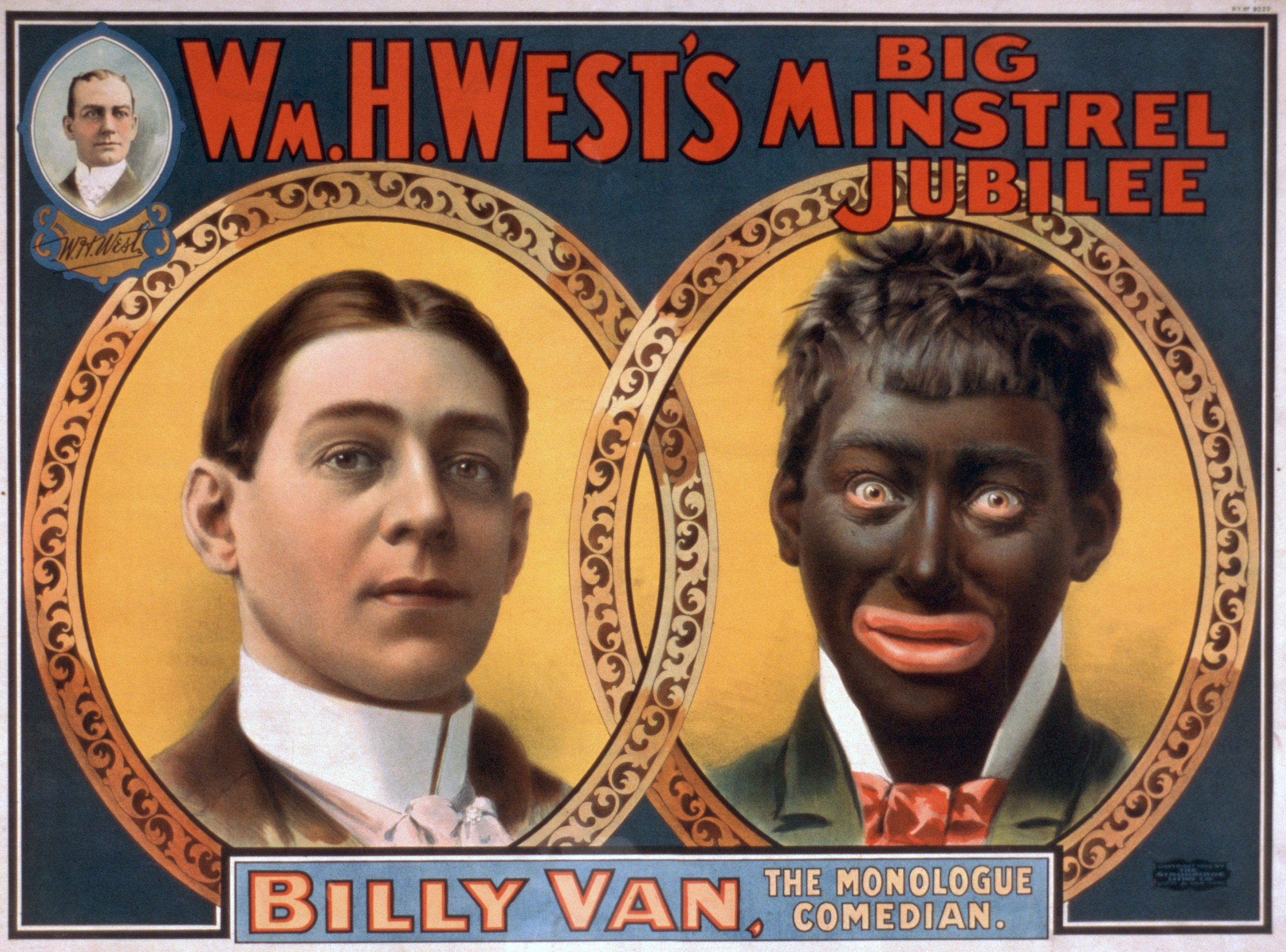 Blackface entertainment gained popularity in early 19th century.