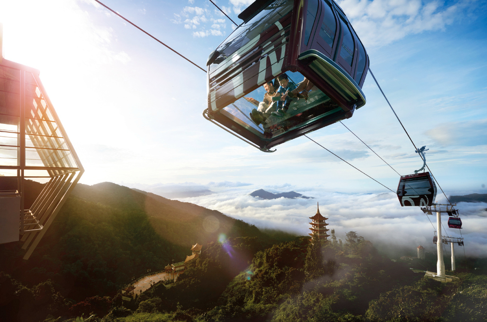 Genting's New Cable Cars Are Not For The Faint-Hearted