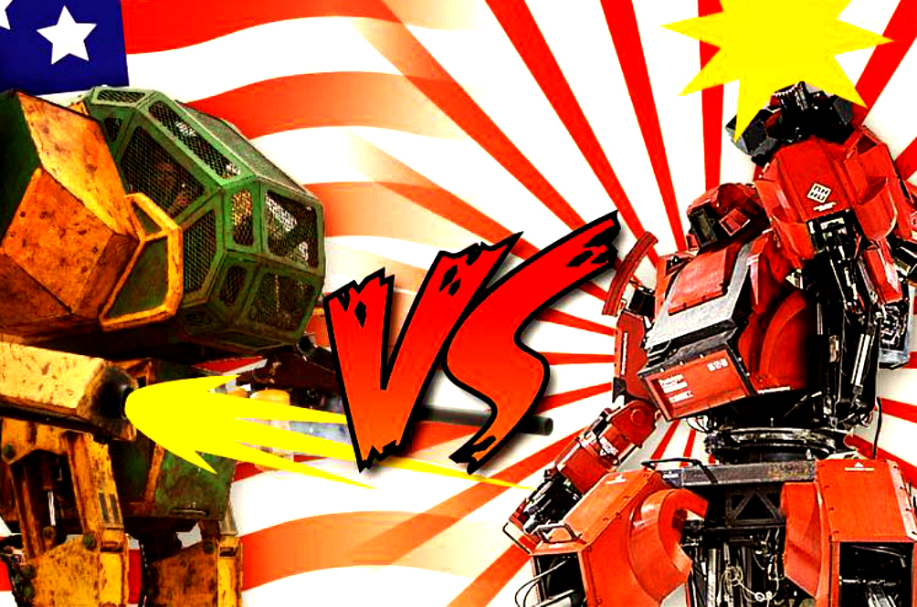 The Japan Vs USA Giant Robot Battle Is Finally Happening!