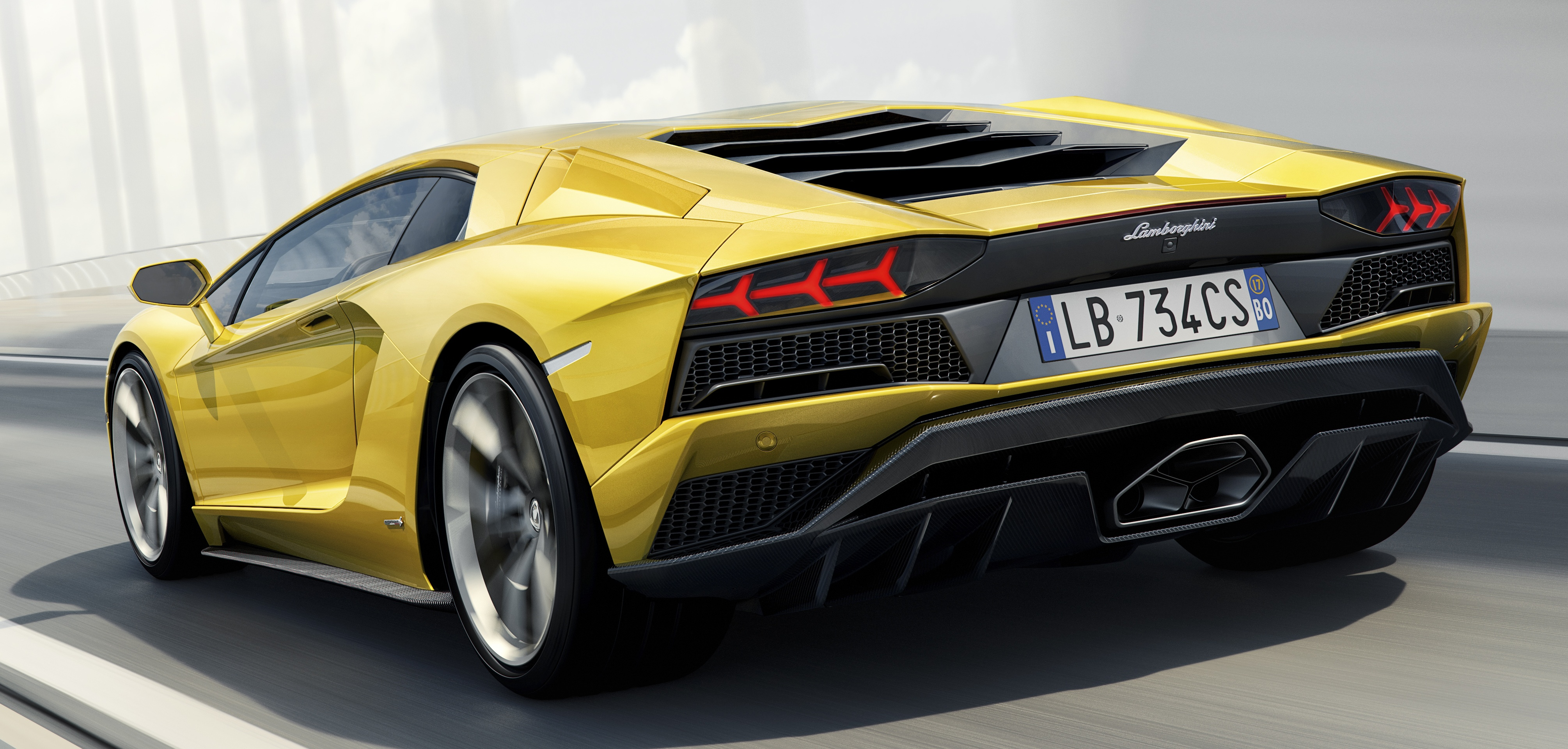 Good News You Can Now Buy The New Lamborghini Aventador S In