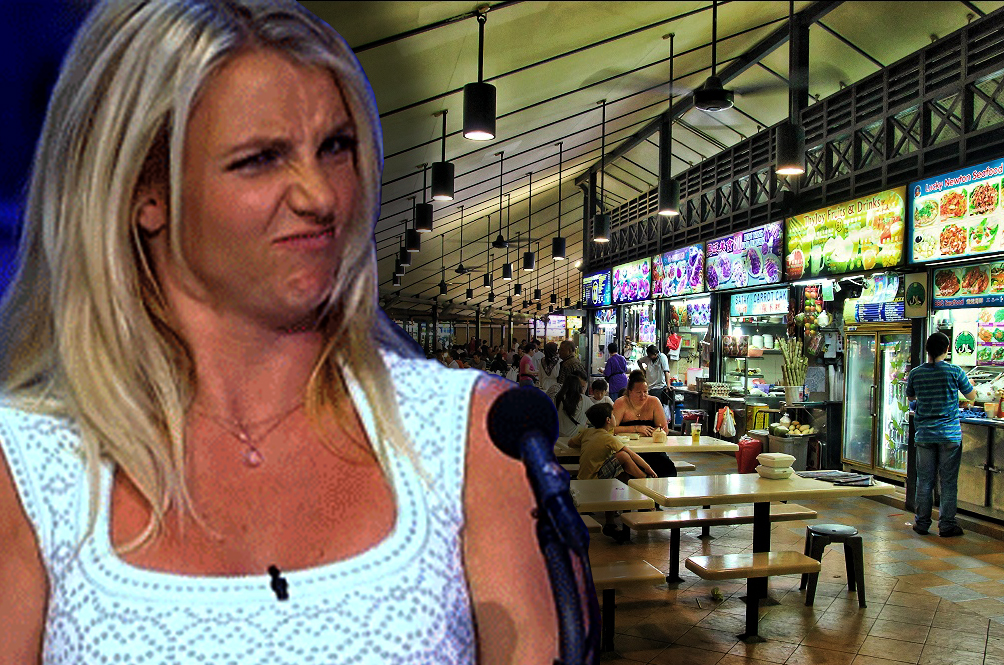 Britney Spears Would Rather Eat Mac And Cheese Than Singaporean Street Food