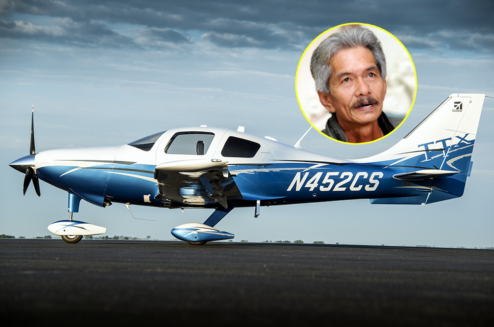 A Disabled Malaysian Pilot Plans To Make The Fastest Ever Solo Round Trip Around The World