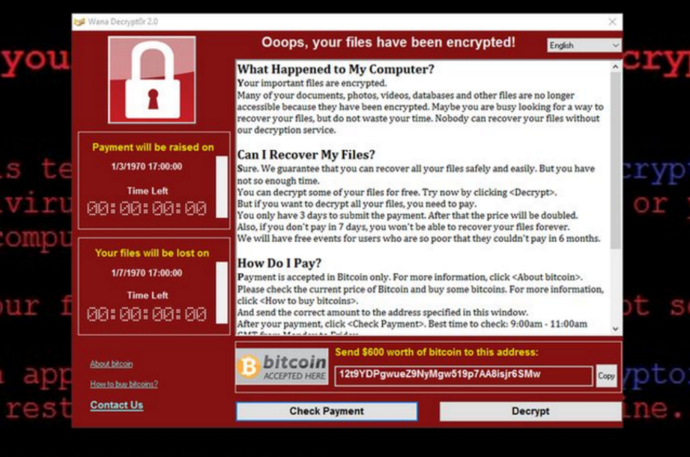 It's Here: WannaCry Ransomware Hits Two Malaysian Companies