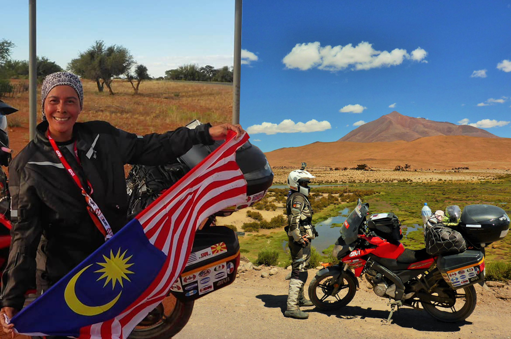 One Woman, Seven Continents: The Globe-Trotting Adventures Of A Malaysian Solo Rider