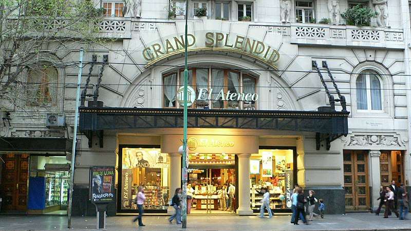 The El Ateneo Grand Splendid has a long history.
