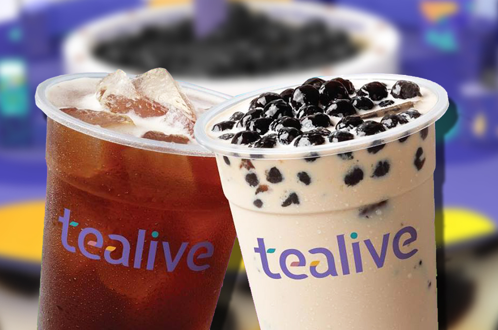 Tealive Is Creating A Massive Bubble Tea Wonderland Just For You!