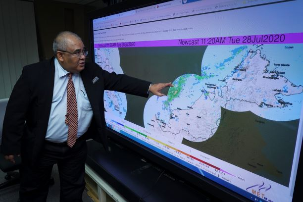 Jailan Simon, the Director-General of the Malaysian Meteorological Department.