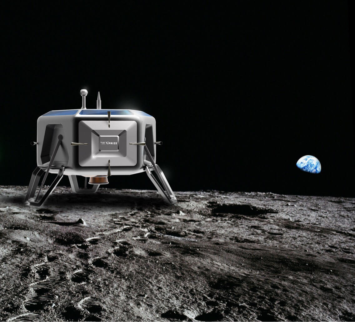Meet Independence X's Mark 1 lunar lander.
