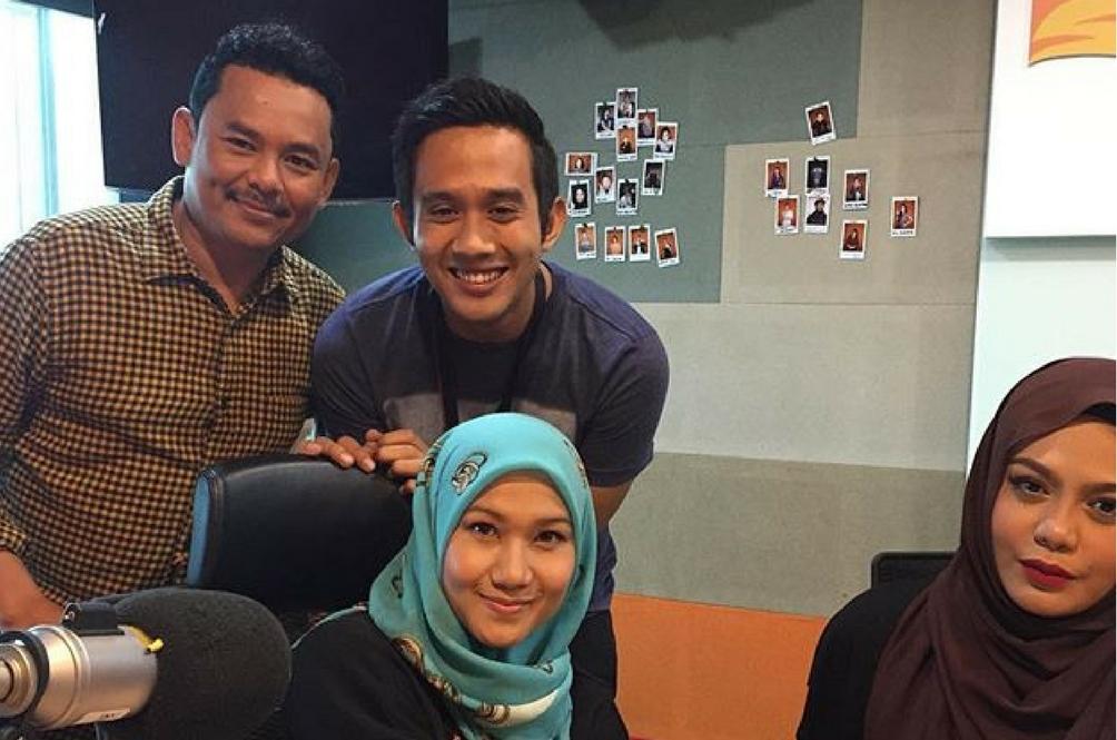 Amy Mastura Melatah Mencarut Di Radio Suria FM