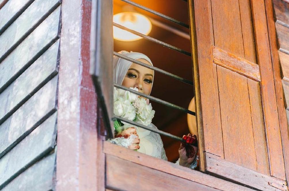 Mia Ahmad Sah Bergelar Isteri Dengan Sekali Lafaz
