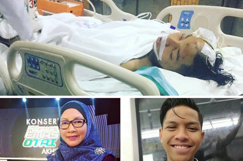 Anak Guru Vokal Siti Hajar Kritikal Kemalangan