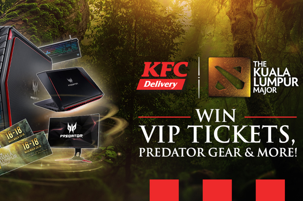 Here's How You Can Score KL Major VIP Tickets By Ordering Some Fried Chicken From KFC Delivery