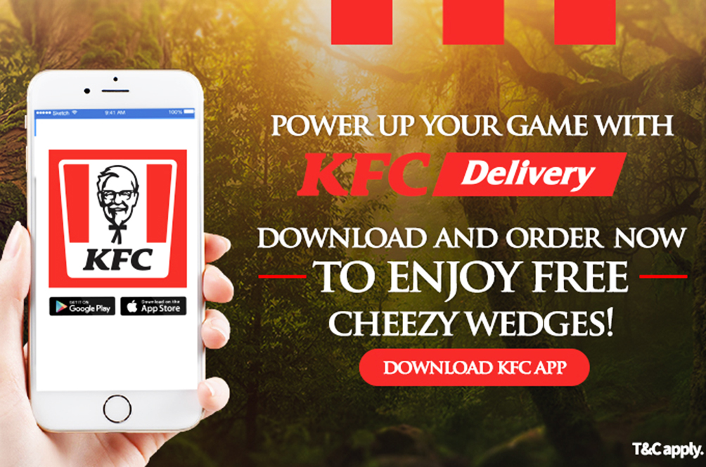 There's Now An App For You To Order KFC Delivery!