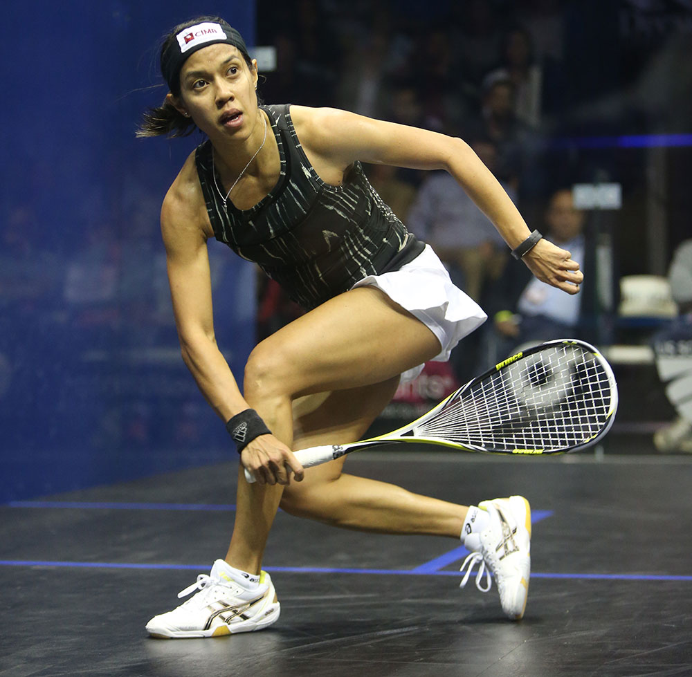Farewell, queen of squash.