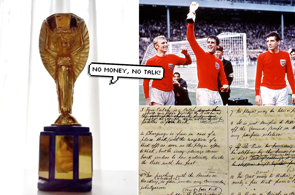 The Five Most Expensive Football Memorabilia On Planet Earth