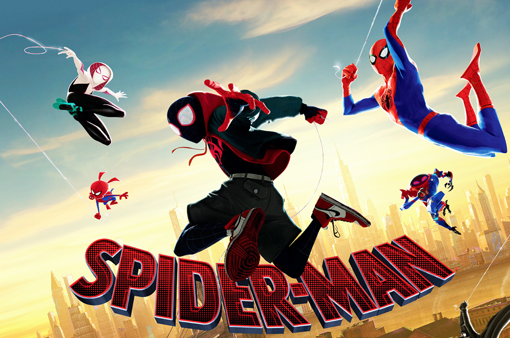 Image result for spiderman into the spider verse poster