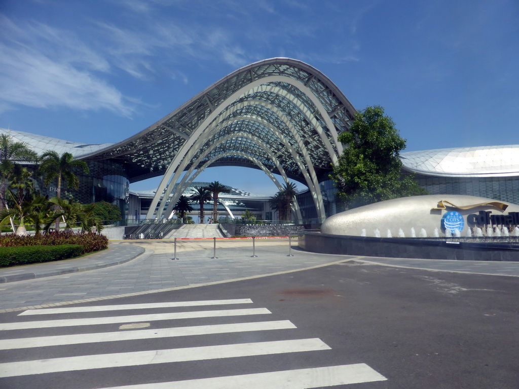 Haitang Bay International Shopping Centre amazes with its architecture too.