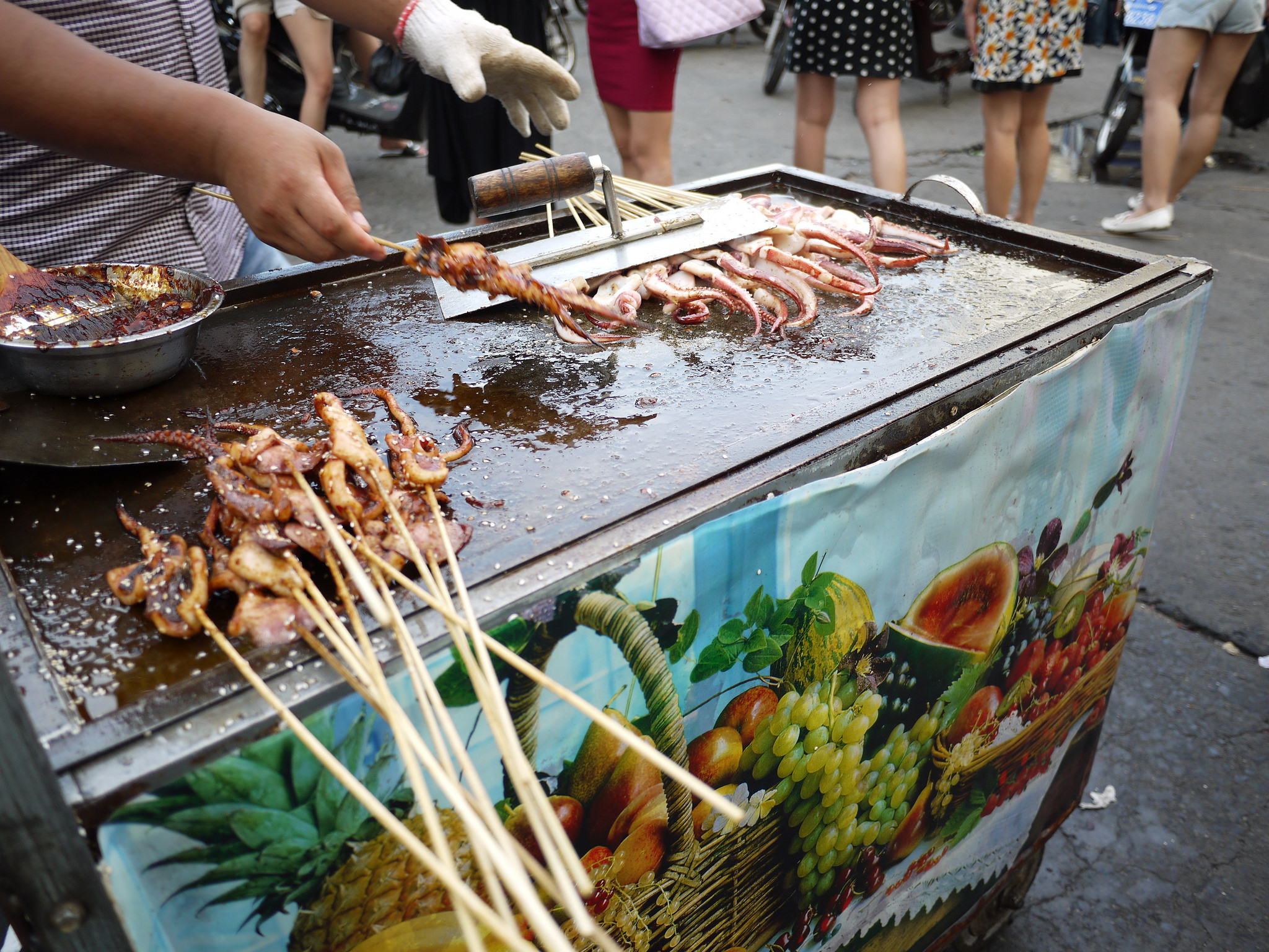 Street food in Haikou.