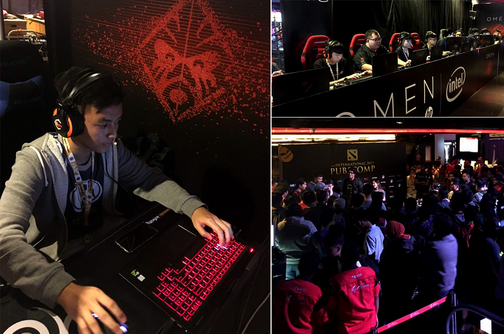 Malaysian Gamers Go Head-To-Head In Omen by HP 'DOTA 2' Tournament
