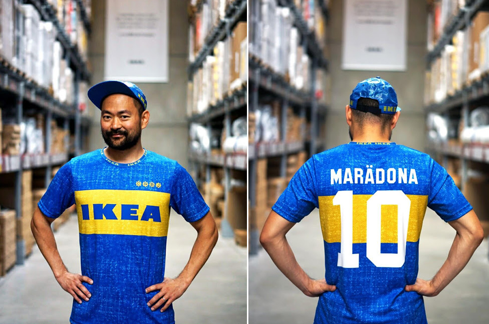 There's Now A Football Jersey Made Out Of Ikea Shopping Bags