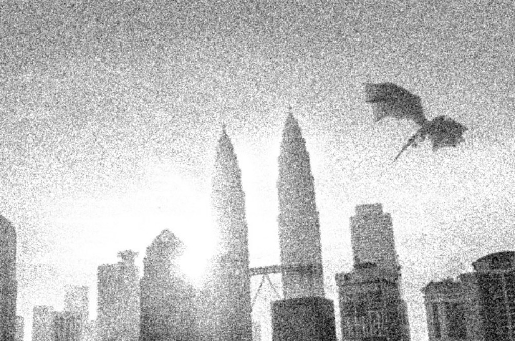 A Dragon Was Spotted Flying Around KL And Malaysians Are Confused