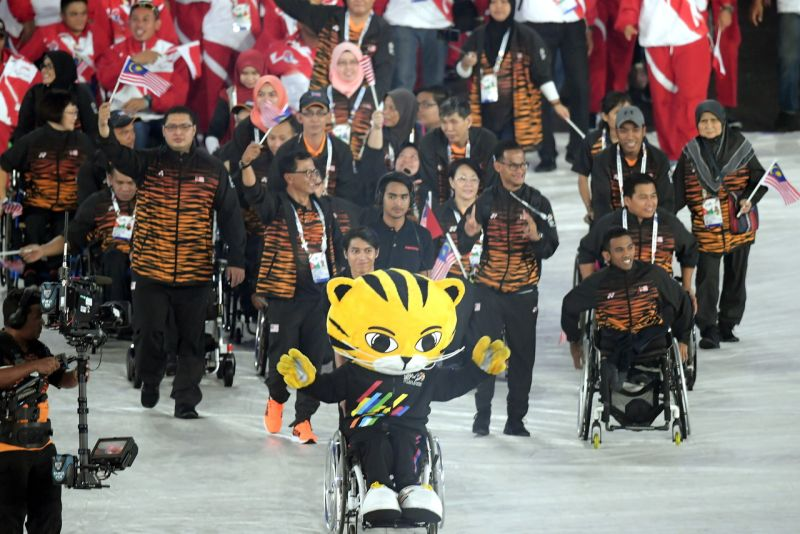 Way to go, Paralympians!