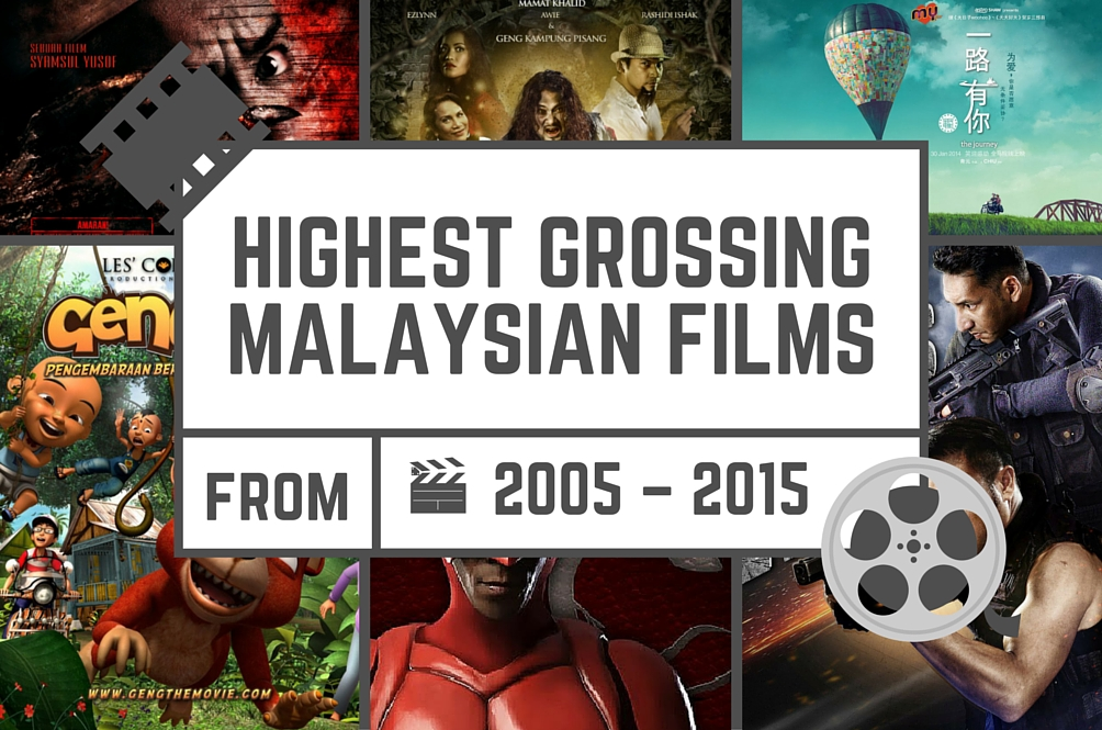 Highest Grossing Malaysian Films from 2005 – 2015