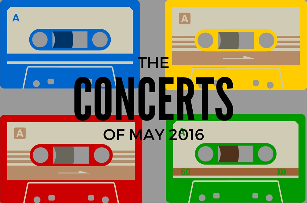 Concerts in South East Asia You Need to Go in May