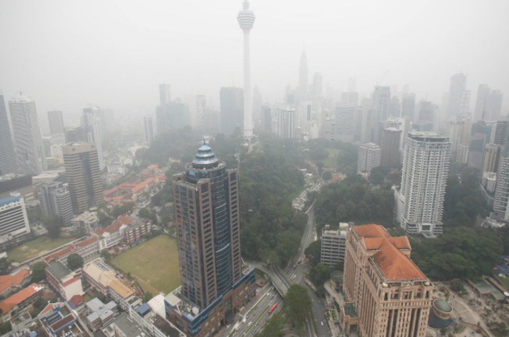 This Time, the Haze Isn't From Indonesia