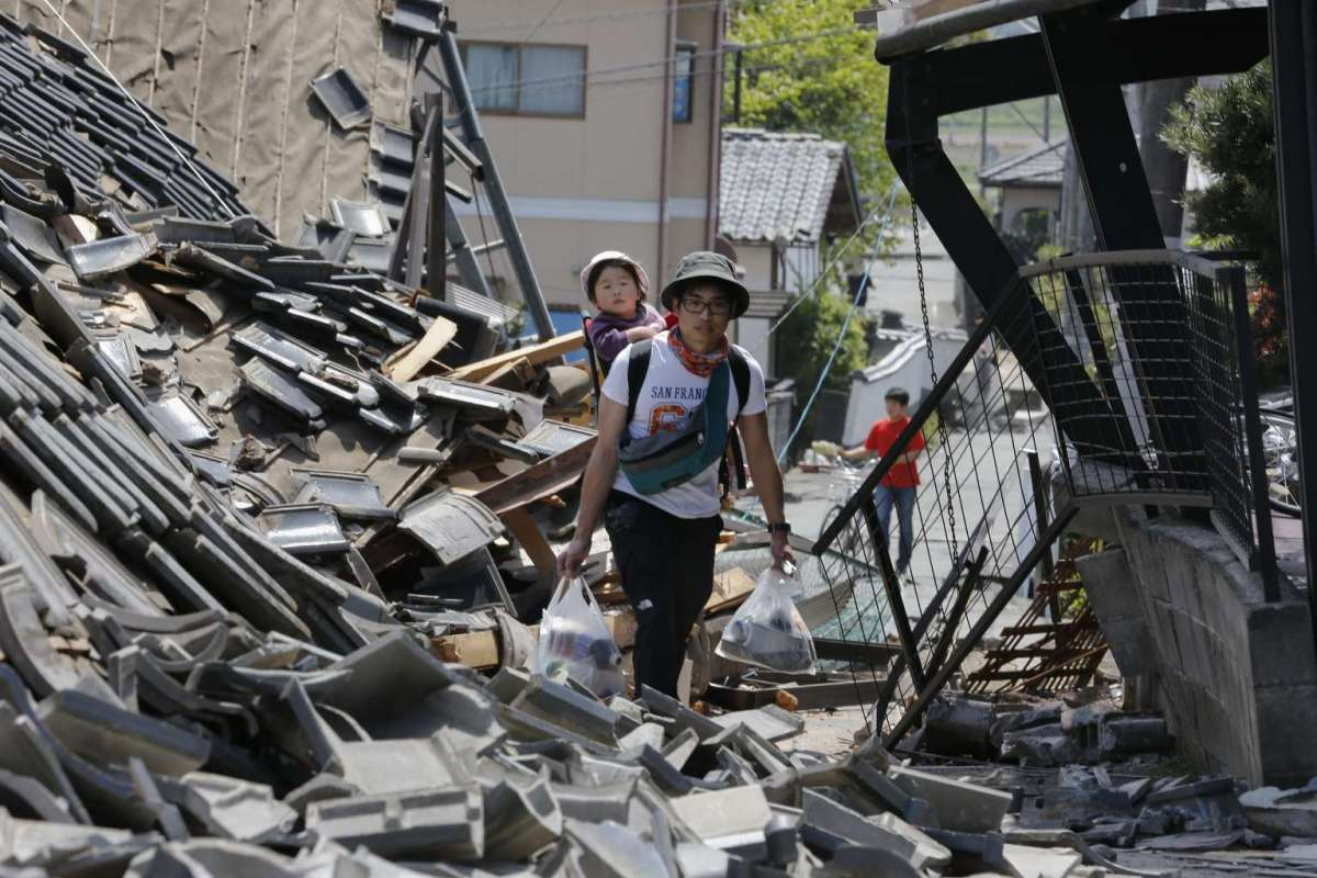 The Impact of the Japan Quake in Daylight