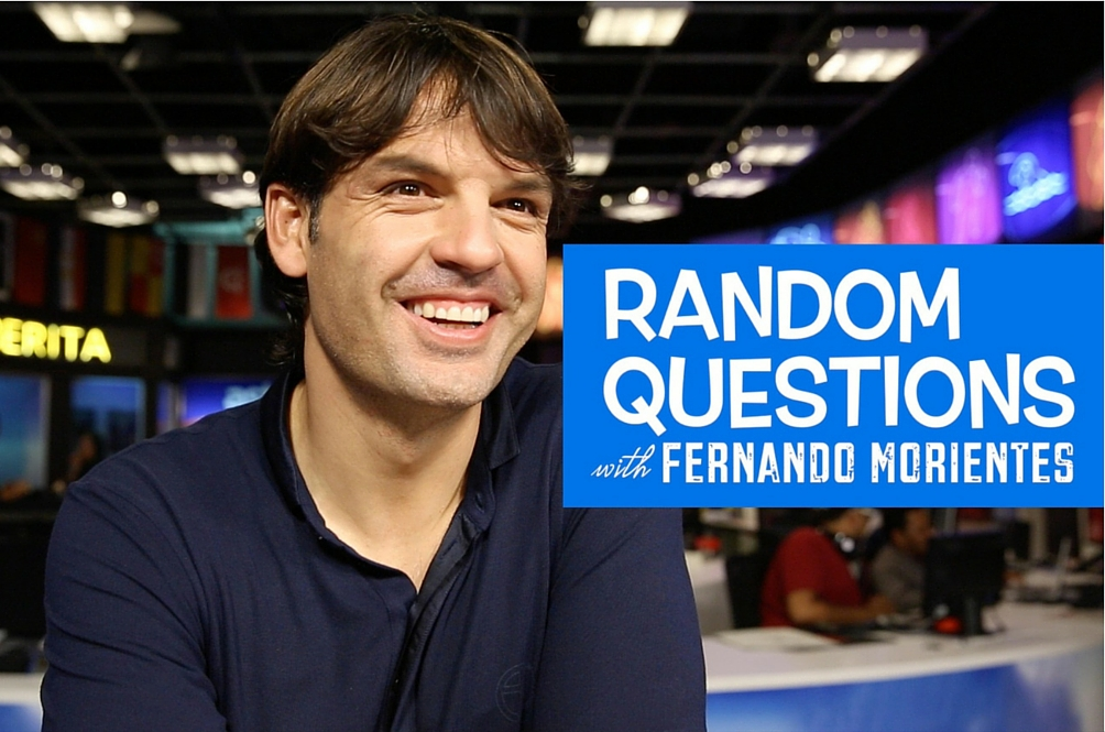 Random Questions with Fernando Morientes
