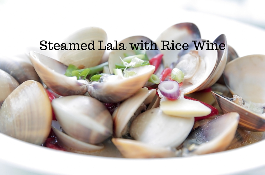 Recipe: Steamed Lala (Clams) With Rice Wine