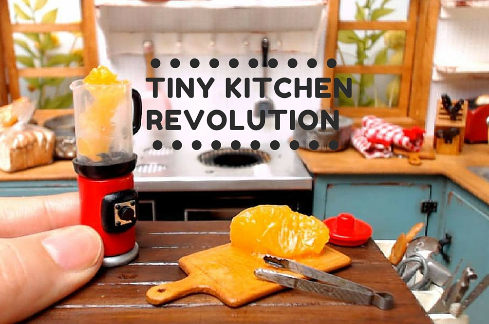 Check Out the World's Tiniest (and Cutest) Working Kitchen
