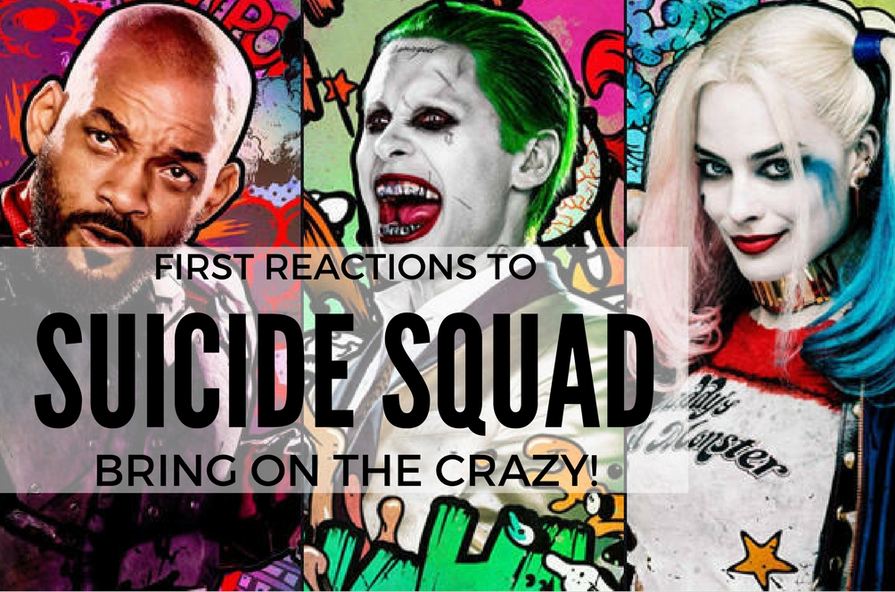 Suicide Squad Is Bad to the Bone