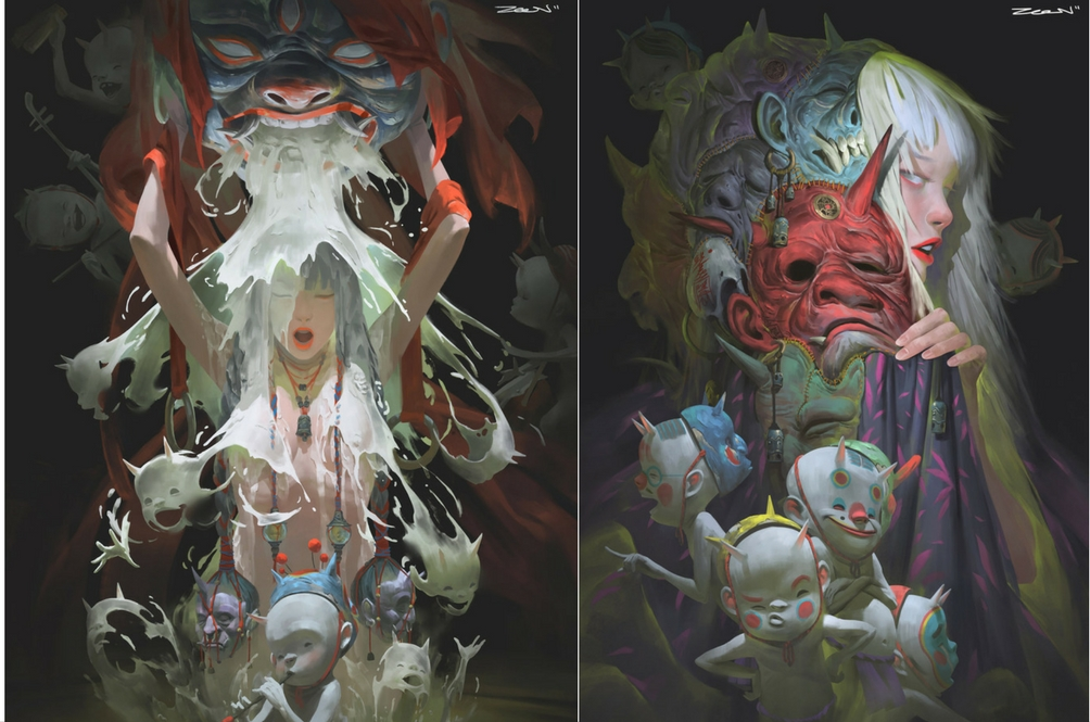 This Malaysian Illustrator Captures The Mysticism of Asia